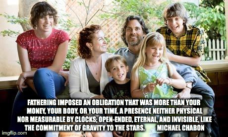 Fatherhood and Gravity