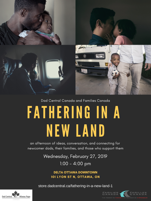 Father in a New Land Poster